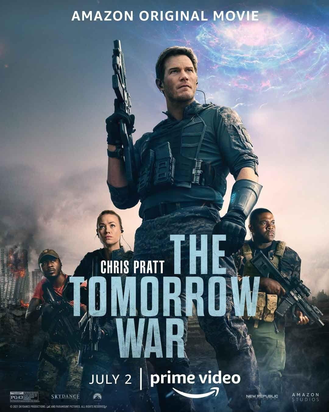 La guerra di domani su Amazon: nuovo trailer italiano